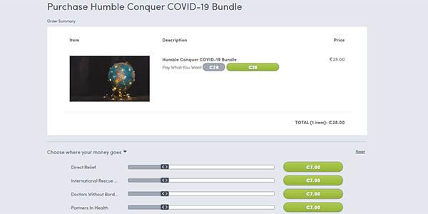 Comprar Humble Conquer COVID-19 Bundle