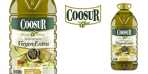 Coosur aceite de oliva virgen extra garrafa oferta