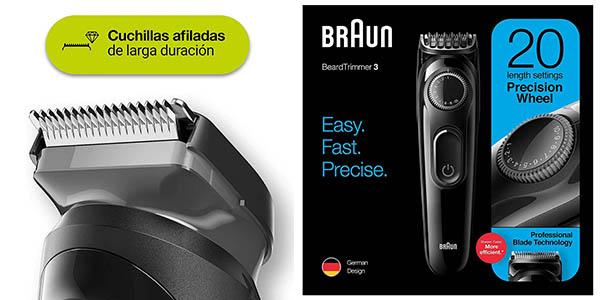 cortapelos Braun BT3222 chollo
