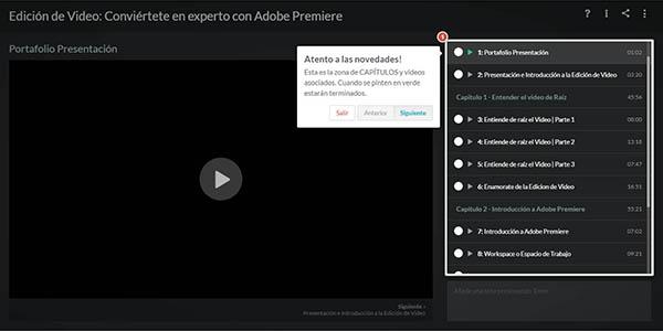 curso Adobe Premiere de edición de vídeos inscripción gratis