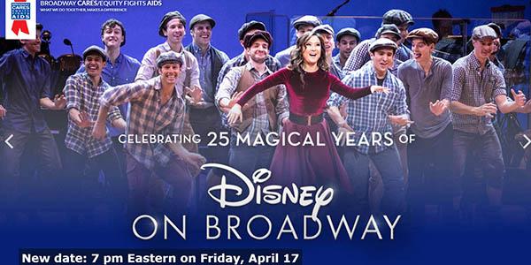 Disney Broadway espectáculo en streaming 25 aniversario