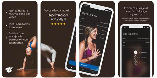 Down Dog App gratis de yoga para Android e iOs