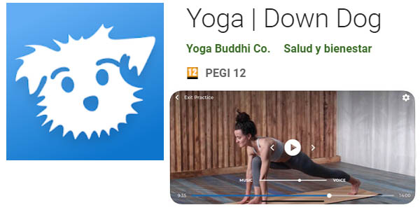 Down Dog app gratis de yoga