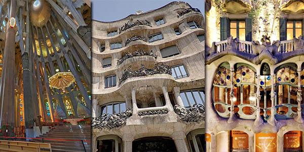 edificios de Gaudía en Barcelona con visita virtual gratis