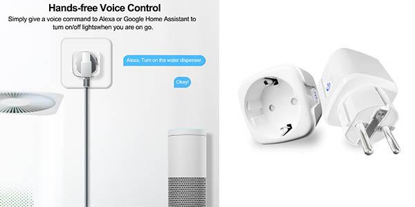 enchufe WiFi inalámbrico compatible con Alexa chollo