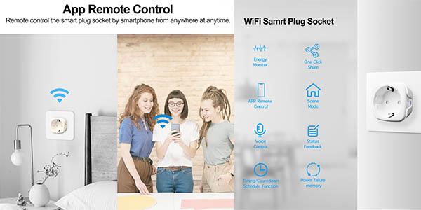 enchufe WiFi inteligente Girier oferta AliExpress
