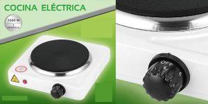 Hornillo portátil eléctrico de 1000W barato en eBay