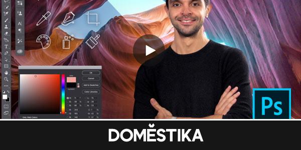 Curso iniciación a Adobe Photoshop en Domestika