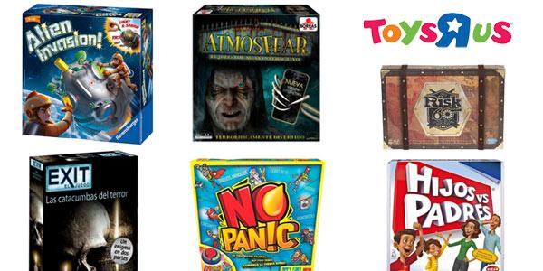 Segunda unidad al 50% de descuento en Juegos de Mesa de Toys R Us