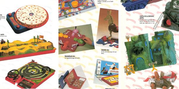 Catálogo de juguetes de El Corte Inglés 1987-88