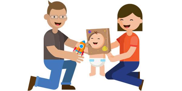 Actividades de Estimulación Temprana para tu bebé con la app Kinedu para iOS y Android