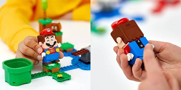 Pack inicial LEGO Super Mario en Zavvi