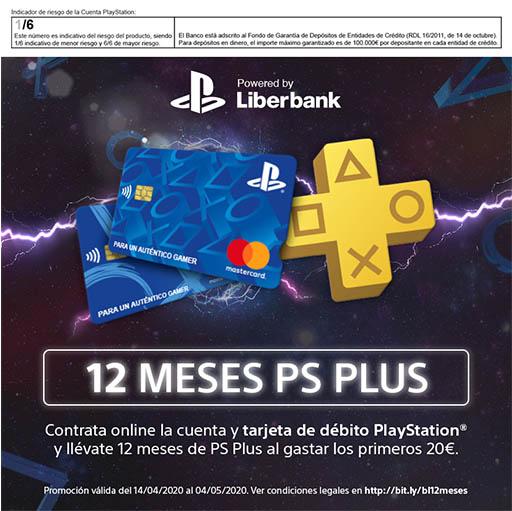 Tarjeta PlayStation de Liberbank