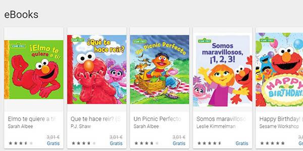 libros de Barrio Sésamo gratis para Android