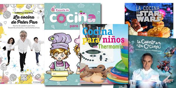 libros para aprender cocina con niños