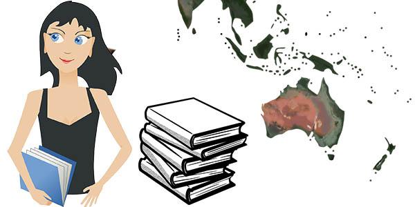 libros para viajar a Oceanía