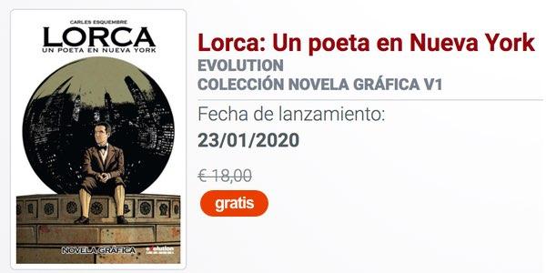 Lorca Un poeta en Nueva York en descarga gratuita