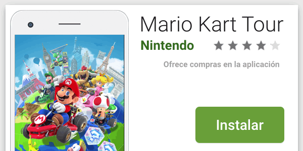 Mario Kart Tour descargar en Android iOS