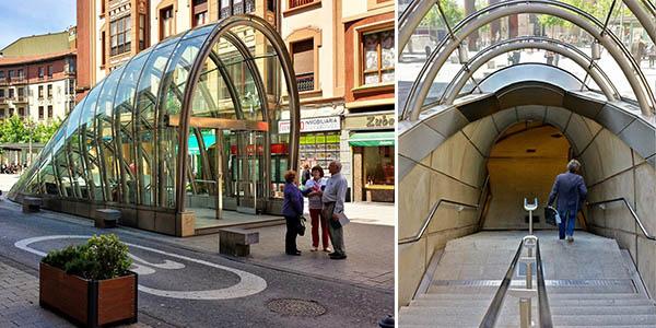 metro de Bilbao fosteritos
