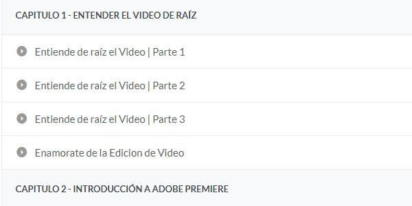 montar y editar vídeos con Adobe Premiere curso gratis online