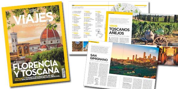 National Geographic Viajes Toscana y Florencia número especial gratis
