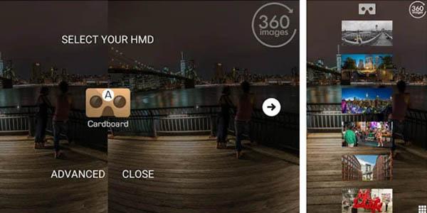 New York VR aplicación realidad virtual