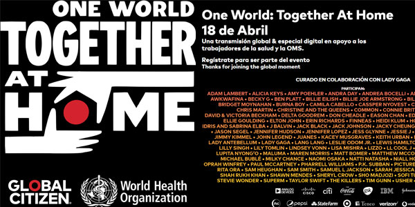 One World Together At Home Global Citizen