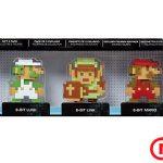 Pack x5 Figuras Nintendo 8 bits