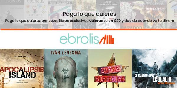 Pack de libros Ebrolis de temática zombi
