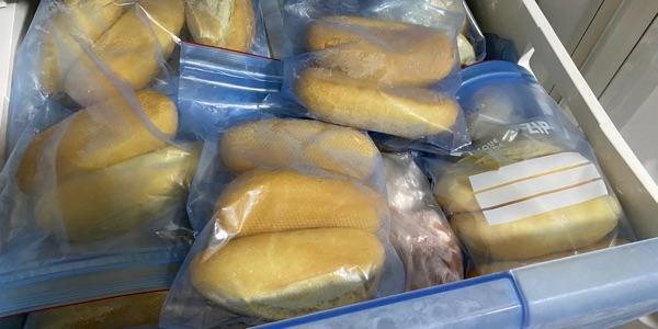 Cómo congelar pan