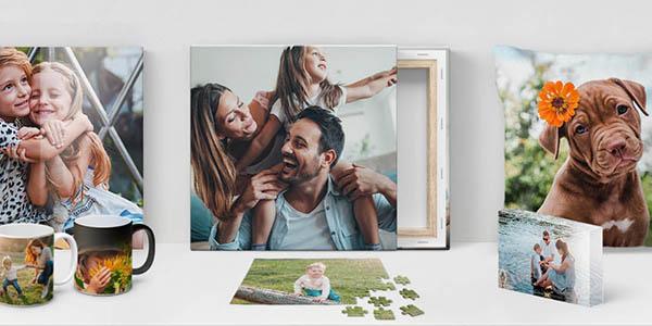 Photo.gifts página web de productos con fotografías