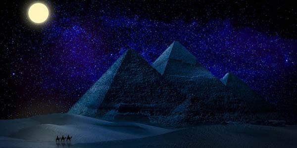 Pirámides de Egipto y astrología