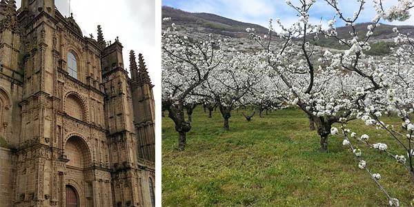Plasencia y Valle del Jerte lugar recomendado para visitar en España