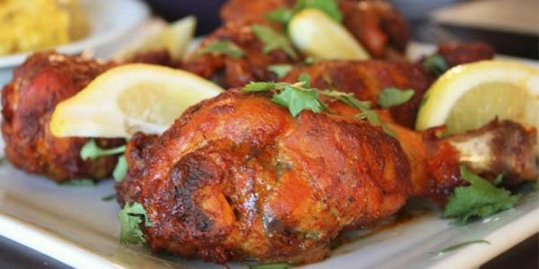 pollo taandori India recetas viajeras