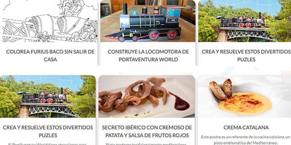 PortAventura Indoor Experience actividades para toda la familia