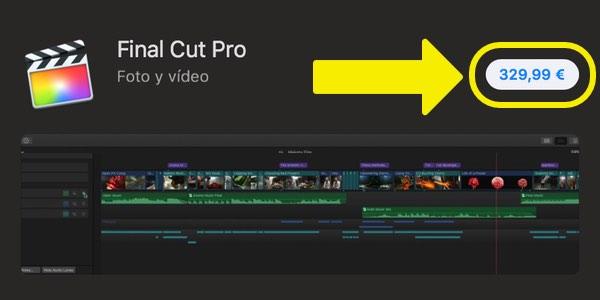 Precio Final Cut Pro X