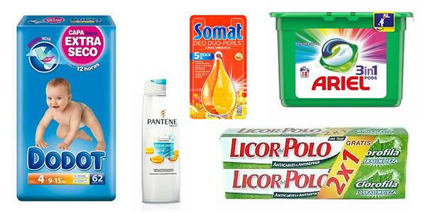productos de higiene, belleza y limpieza en eBay cesta de la compra chollos