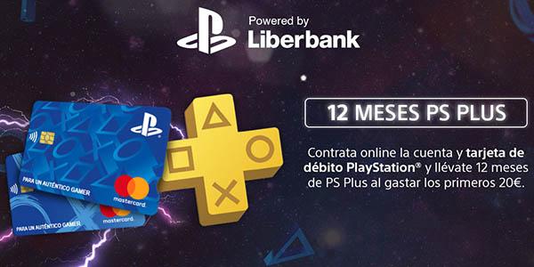 Cuenta y Tarjeta PlayStation de Liberbank