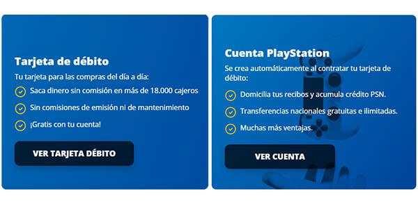 Ventajas tarjeta Playstation