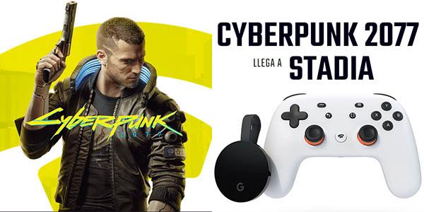 Premiere Edition de Stadia GRATIS al comprar Cyberpunk 2077