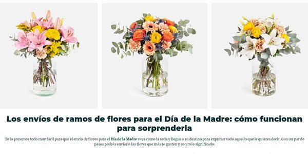 ramos de flores online en Colvin con cupón descuento para el Día de la Madre