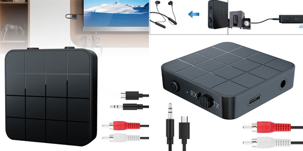 Receptor y transmisor Bluetooth barato en Aliexpress
