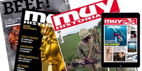 Suscripción a la revista Muy Interesante de un año por sólo 16€