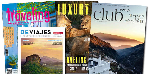 revistas de viajes gratis en Issue