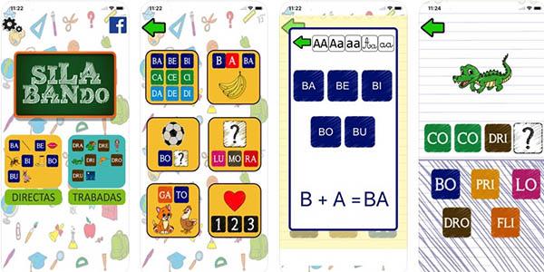 Silabando aplicación gratis infantil para aprender a escribir palabras