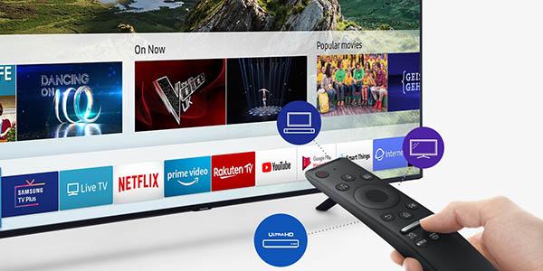 """Smart TV Samsung QE55Q64R UHD 4K HDR de 55"""" en El Corte Inglés barato"""