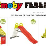 Smoby y Feber columpios y juguetes de exterior promoción El Corte Inglés