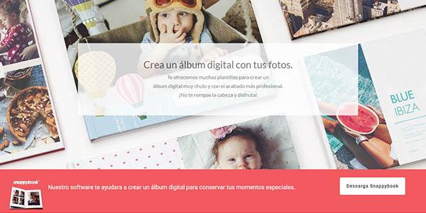 Snappybook álbums de fotos digitales
