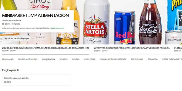 supermercados Uber Eats en Madrid