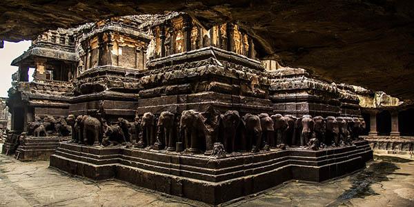 Templo Kailasanatha y Ellora en India